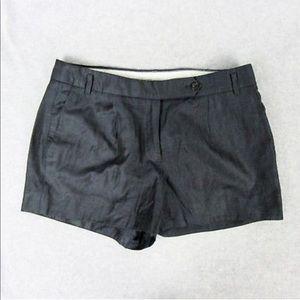 J.Crew Dressy Charcoal Grey Shorts